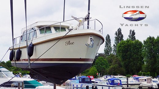 Another new Linssen Yacht arrives in the UK