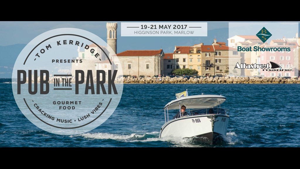 Boat Showrooms attending Pub in the Park - 20/21 May 2017