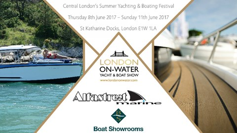 Alfastreet presentation at London on Water Yacht & Boat Show