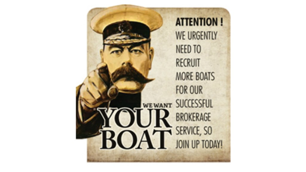 We want your boat!