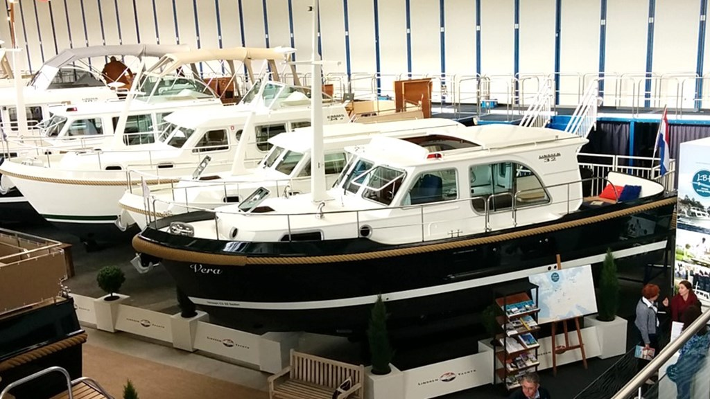 Linssen Yachts 'Collection' Boat Show,