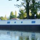 Custom Burscough 62' x 12' Wide Beam Barge