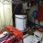 Large hot water tank