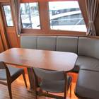 Dinette 'L' settee and dining area