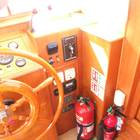 Saloon - lower helm control and fire control station