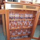 Saloon glasses cabinet