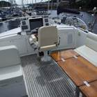 Large Flybridge looking forward with ample storage