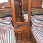 Portside twin cabin