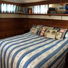 Aft Master cabin queen size island bed