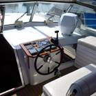 Spacious and efficient aft deck
