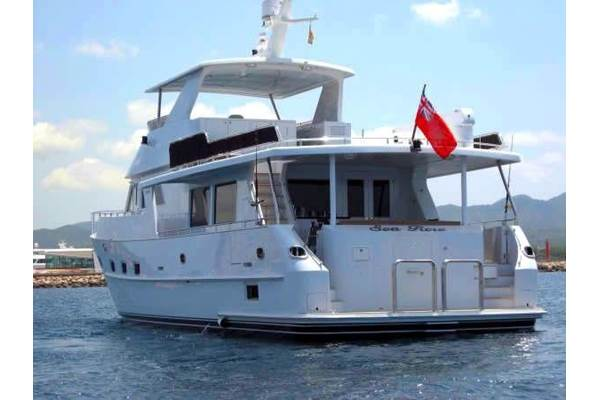 Grand Alaskan 68  Pilothouse