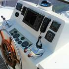 Later model flybridge centre console