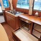 Saloon galley and storage